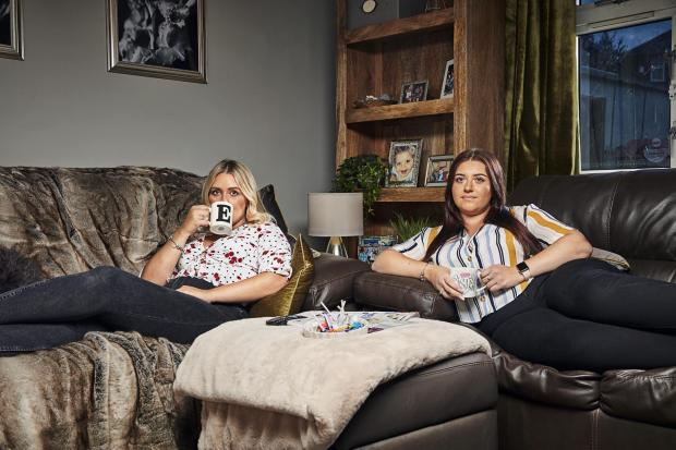 St Helens Star: Ellie and Izzi. Picture: Channel 4