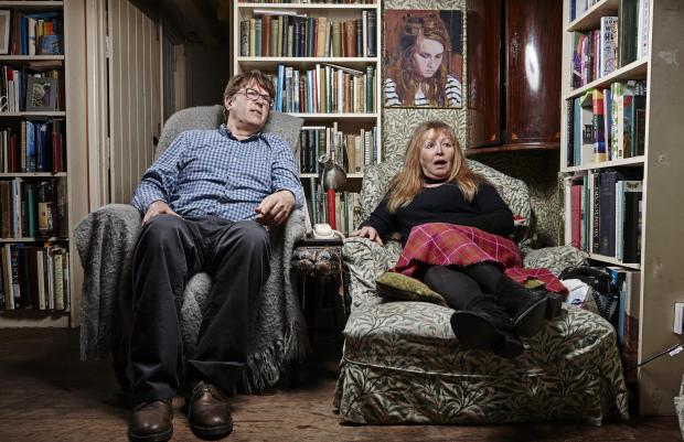 St Helens Star: Giles and Mary. Picture: Channel 4