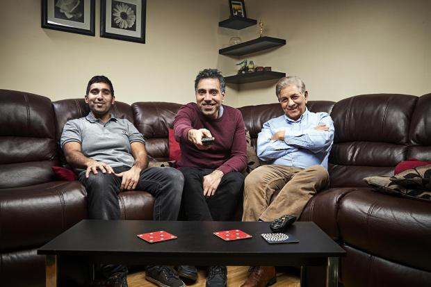 St Helens Star: The Siddiqui family. Picture: Channel 4