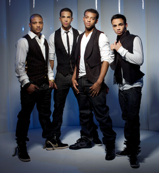 JLS are regarded as one of Britain's hottest young bands.
