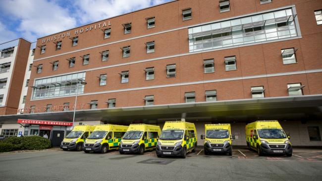 Whiston Hospital continues to face the challenges of Covid