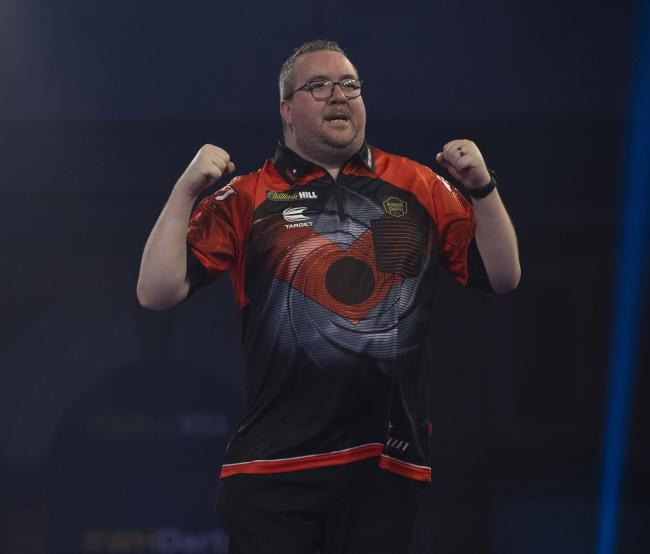 Stephen Bunting. Pic: Lawrence Lustig/PDC