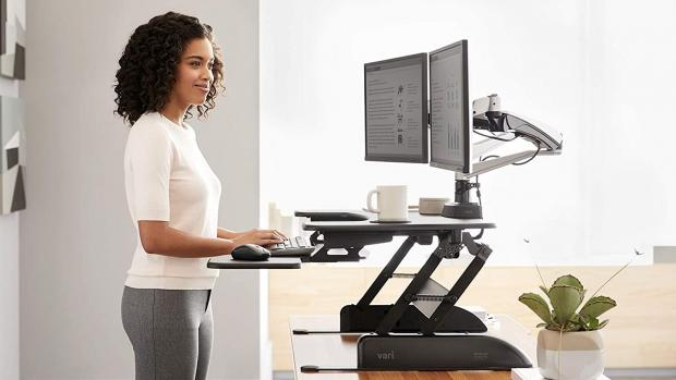 St Helens Star: A standing desk to ensure you're not sitting all day long  Credit: Reviewed / Jackson Ruckar