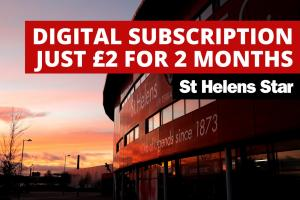 Don't miss out on St Helens Star's £2 for 2 months digital subscription offer
