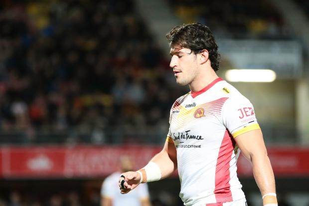 Benjamin Garcia is the new captain at Catalans Dragons. Picture: SWpix.com