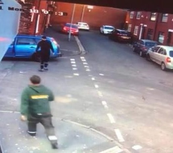 CCTV of the men