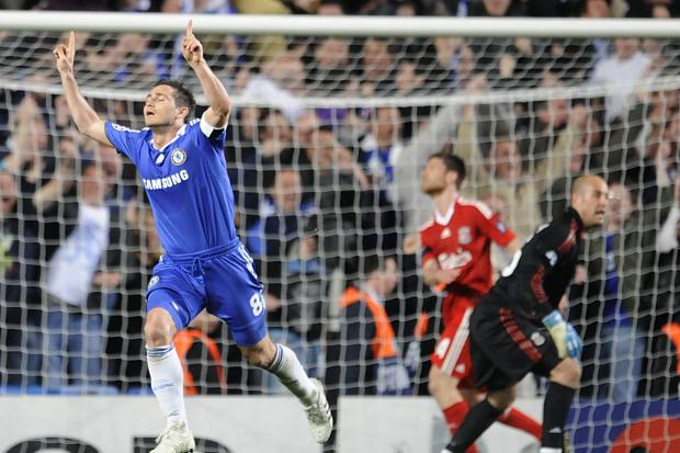 Frank Lampard's second goal of the game sealed Chelsea's 7-5 aggregate win