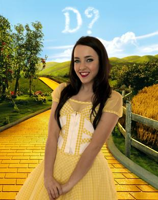 Dorothy hopeful Stephanie Davis, a former De La Salle pupil, was the Voice of St Helens in 2004.