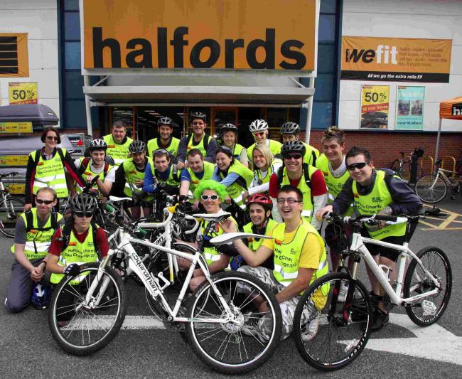 Donate your old bikes at Halfords for people in Africa | St Helens Star