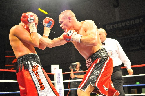 Martin Murray. Pictures by Grant Brooks