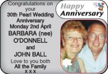 BARBARA DONNELL JOHN BALL