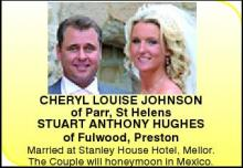 CHERYL LOUISE JOHNSON STUART ANTHONY HUGHES