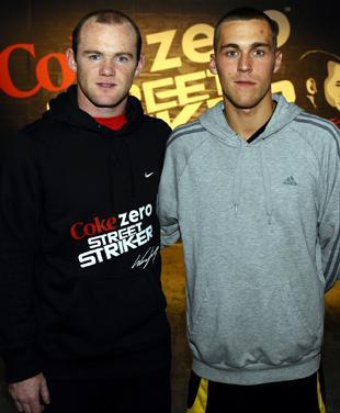 River Hopes His Skills Will Flow On Wayne Rooney S Street Striker St Helens Star