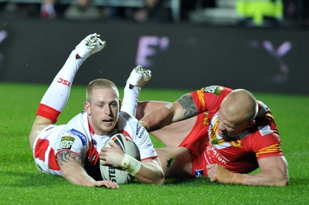 St Helens Star: Gary Wheeler - two tries