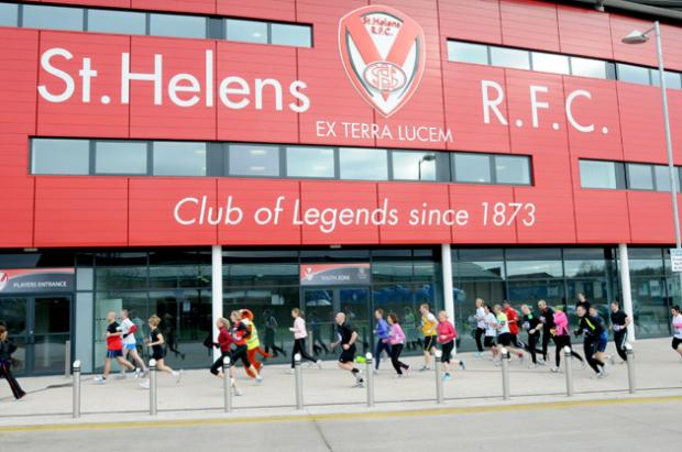 The GPW Recruitment St Helens 10K will start and finish at Langtree Park