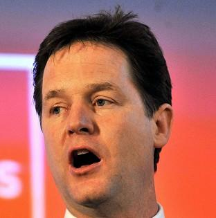 Deputy Prime Minister Nick Clegg is due to launch his Youth Contract scheme