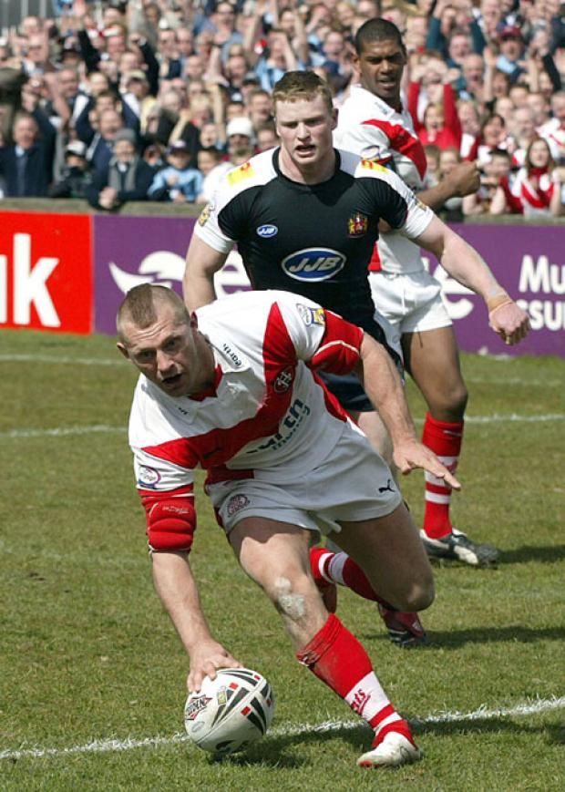 Sean Long back in his Saints playing days.