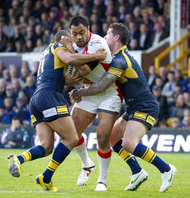 Tony Puletua will be back to face Warrington on Monday.