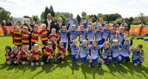 PICTURES:Competitors aged from seven to 70 enjoy St Helens Sports Festival.