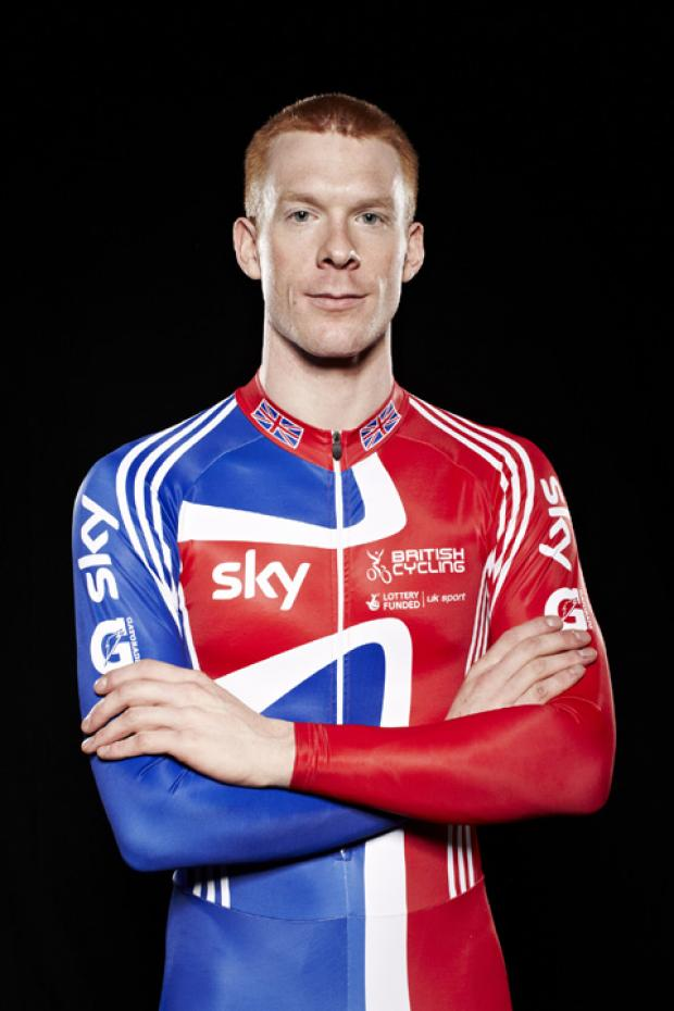 Ed Clancy - going for gold in the Team Pursuit and Omnium. Picture: www. britishcycling.org.uk