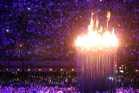 The town's old motto, Ex Terra Lucem, helped influence the creation of the incredible Olympic cauldron.