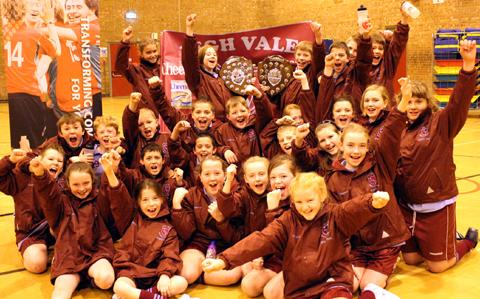 Legh Vale Primary School pupils celebrated a year to remember.