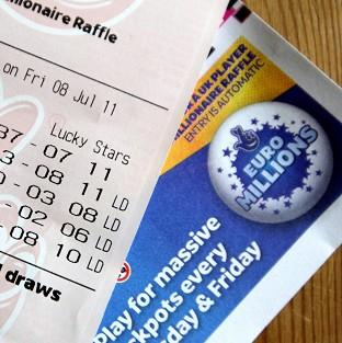 A Suffolk couple have won a EuroMillions jackpot of more than 148 million pounds