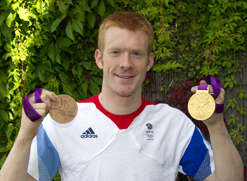 Ed Clancy still in a spin after London 2012 Olympics triumph