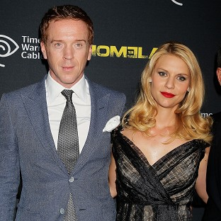 Damian Lewis and Claire Danes at the season 2 premiere of Homeland (Starpix/AP)