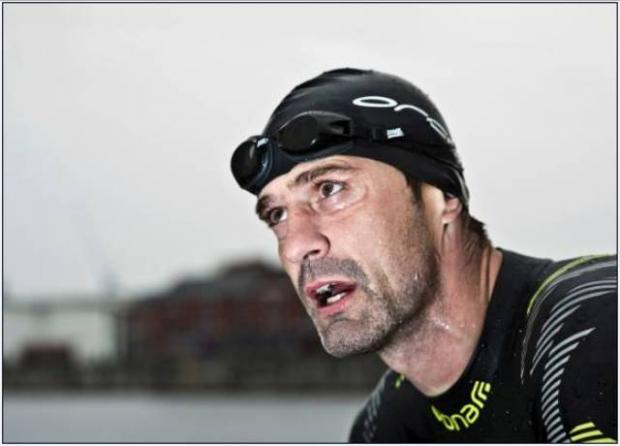 St Helens Star: Open water swimming has provided Prescott with his latest gruelling challenge.