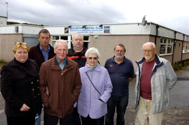 Members of the Eccleston Social Club are fighting the planned closure.