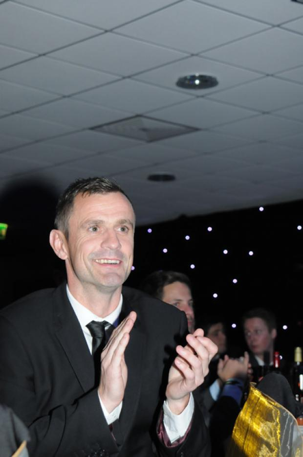 Steve Prescott pictured at the Pride of St Helens awards.