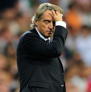 Roberto Mancini took responsibility for Manchester City's defeat at Ajax.