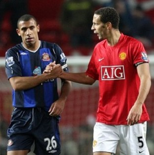 Anton Ferdinand, left, and Rio Ferdinand said they want to work with the Kick it Out campaign