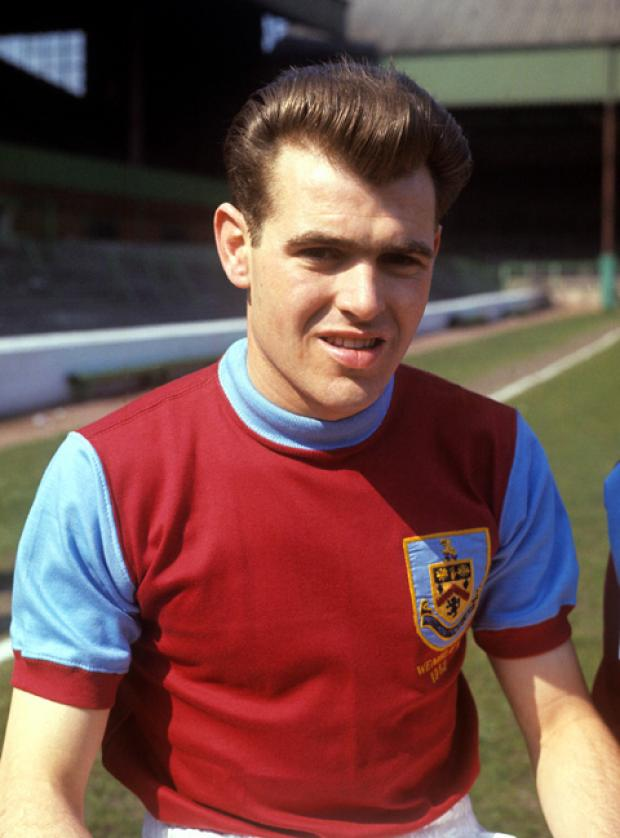 John Connelly, pictured in his Burnley days.