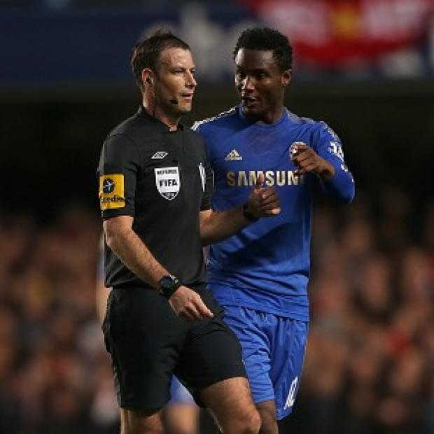 Chelsea have lodged a formal complaint against Mark Clattenburg, left