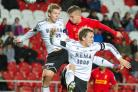 Liverpool FC's Academy in action at Langtree Park