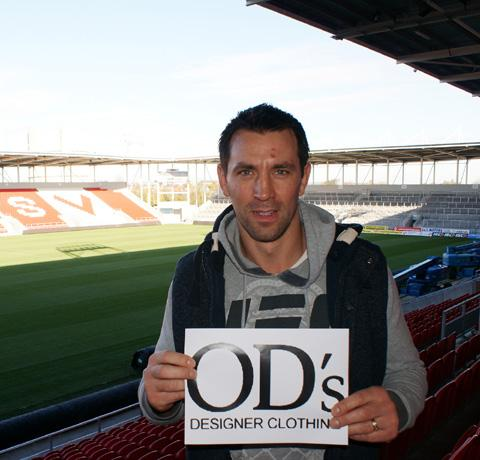 Paul Sculthorpe is supporting OD's campaign.