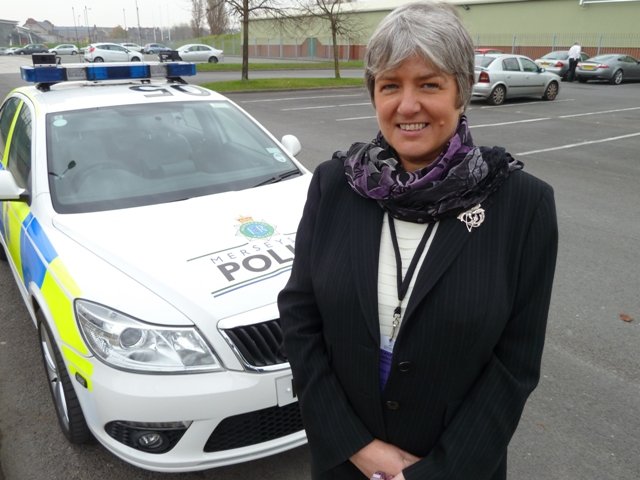 Merseyside's Police Commissioner (pictured) has given her backing to Fahma's campaign.