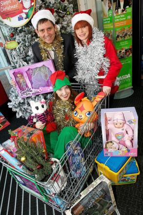 Asda and Helena team up for Christmas gift appeal