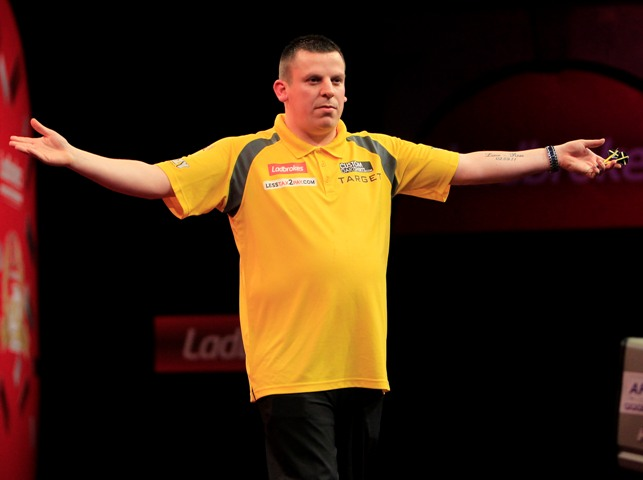 Dave Chisnall - 4-1 victor over Daryl Gurney