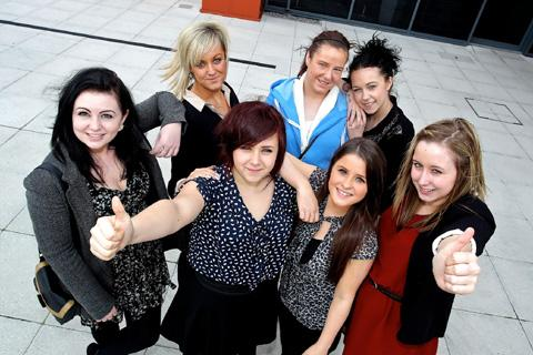 THESE youngsters landed apprenticeships with Helena Partnerships in St Helens