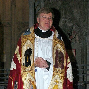 The Rev Martin Reynolds said his friend Dr Jeffrey John, the Dean of St Albans, has been made a 'whipping boy' in the row