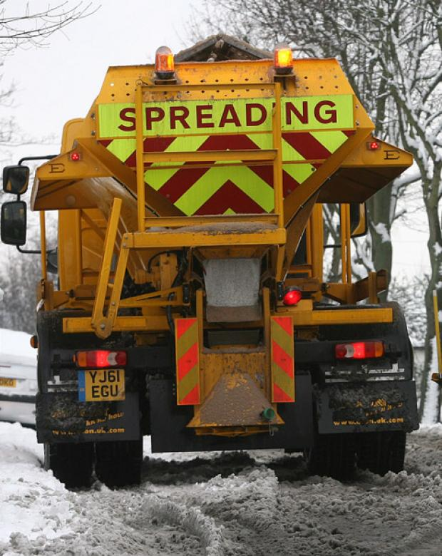 Nine gritters will be used in St Helens should the forecast big freeze arrive.