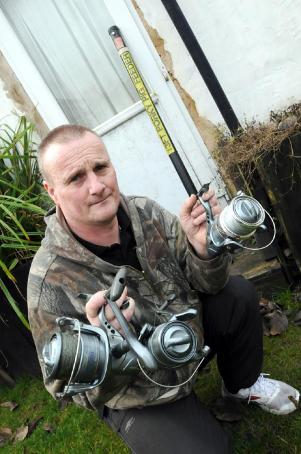 Angler's appeal to tackle rod burglars