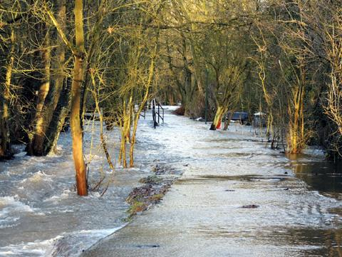 After the snow, heavy rain poses flooding threat to St Helens