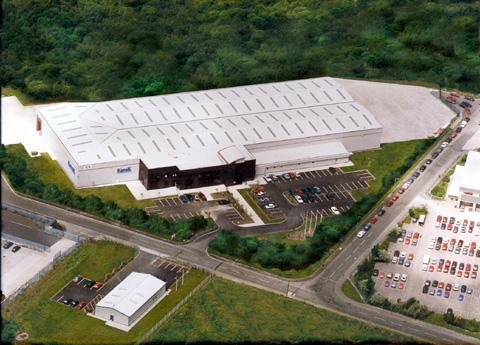 KapaK Foods' new site on the Abbotsfield Road Industrial Estate