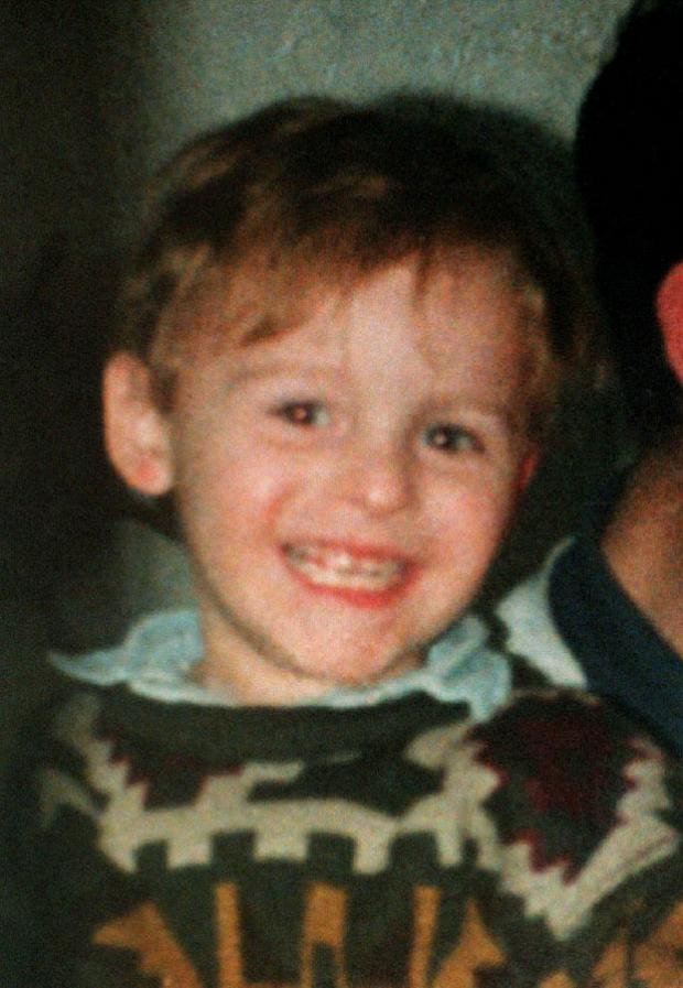 Two-year-old James Bulger was abducted and murdered in Liverpool in February 1993.