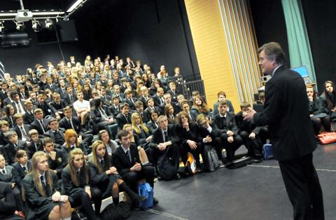 Cowley pupils get a lesson in global business