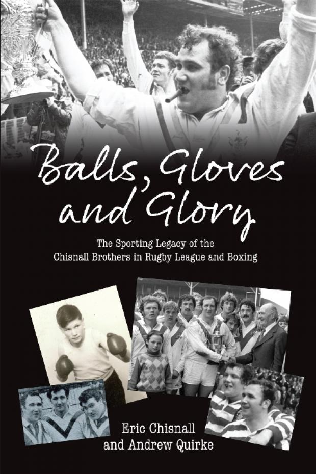 Book about the sporting Chisnall brothers launched this week
